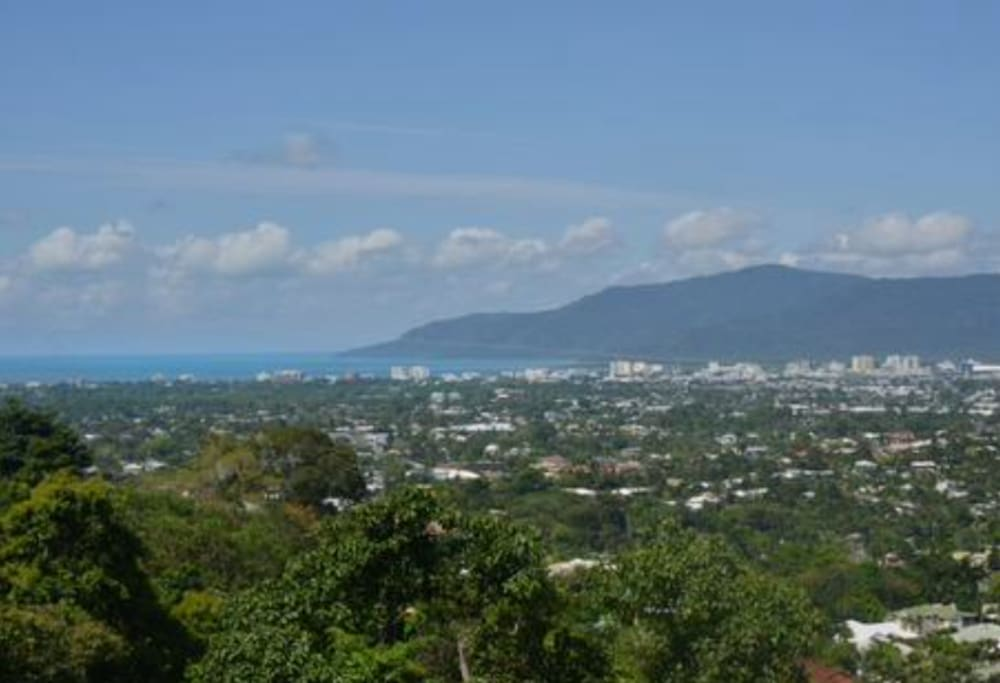 Glorious view of Cairns