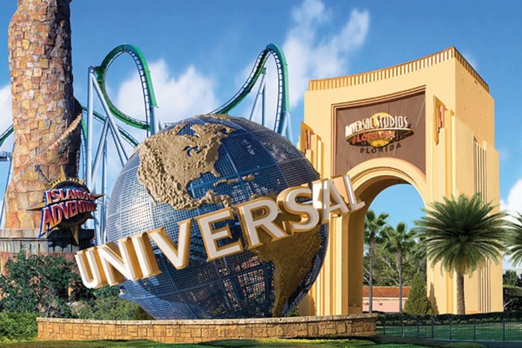 15 Minute Drive to Universal Studios of Orlando