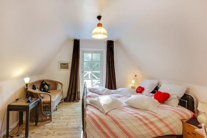 Fyn,double room No 1, Gislev, Funen - Gislev - Oda + Kahvaltı