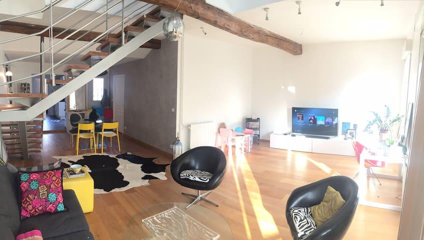 Loft en duplex (105 m²) Minimes - Terrasse - Toulouse