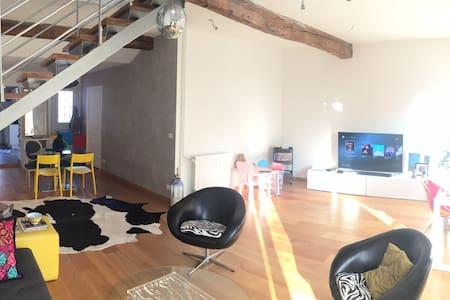 Loft en duplex (105 m²) Minimes - Terrasse - 图卢兹 - 公寓