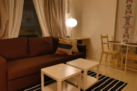 Sarah's cozy 1-bedroom apt in Garosugil Gangnam - Appartement
