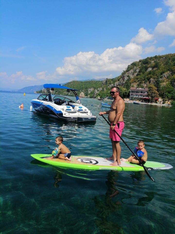Apartman vo trpejca za planinski i ezerski turizam