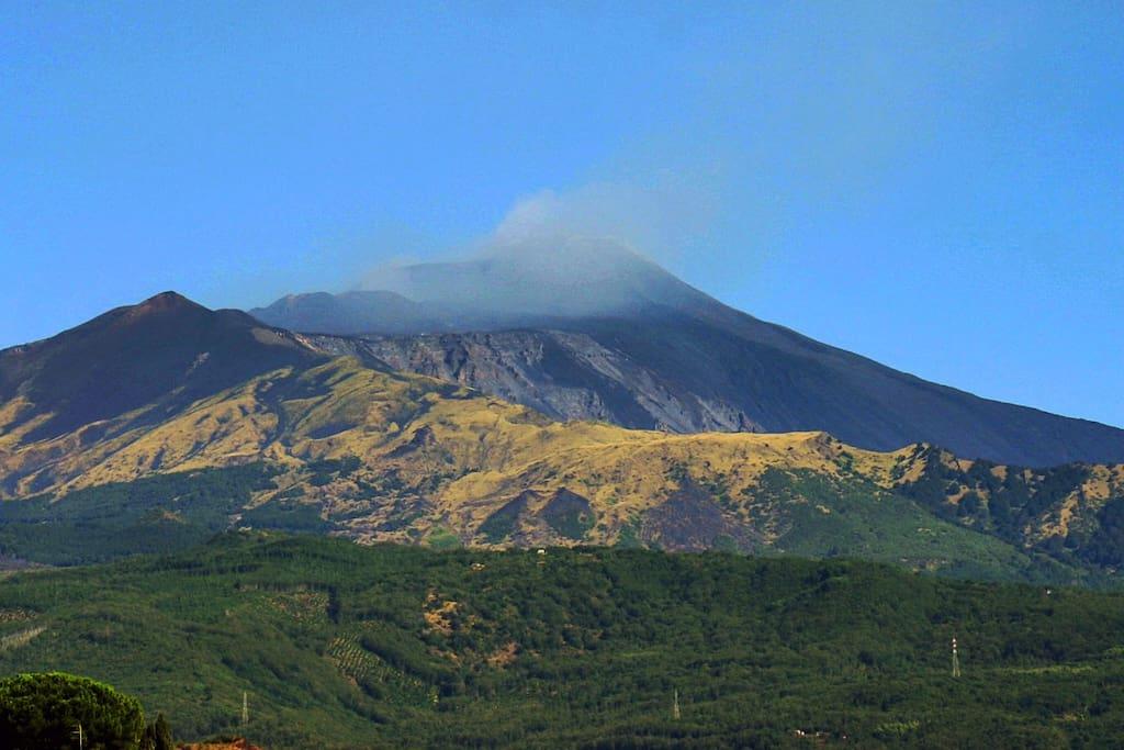 L'Etna è il vulcano attivo più alto d'Europa