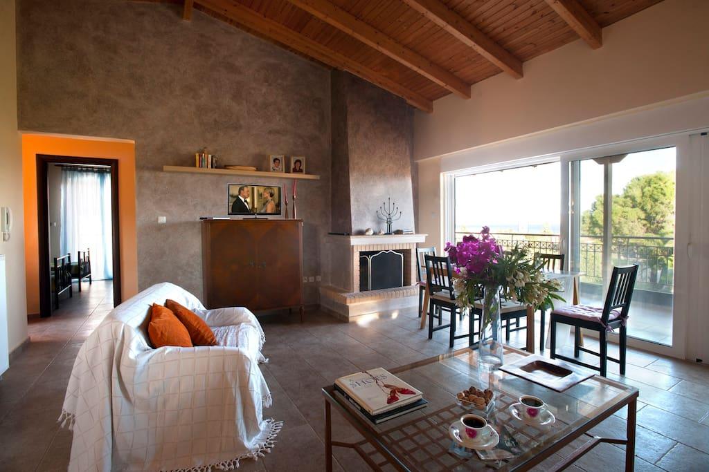 Living room. Σαλόνι