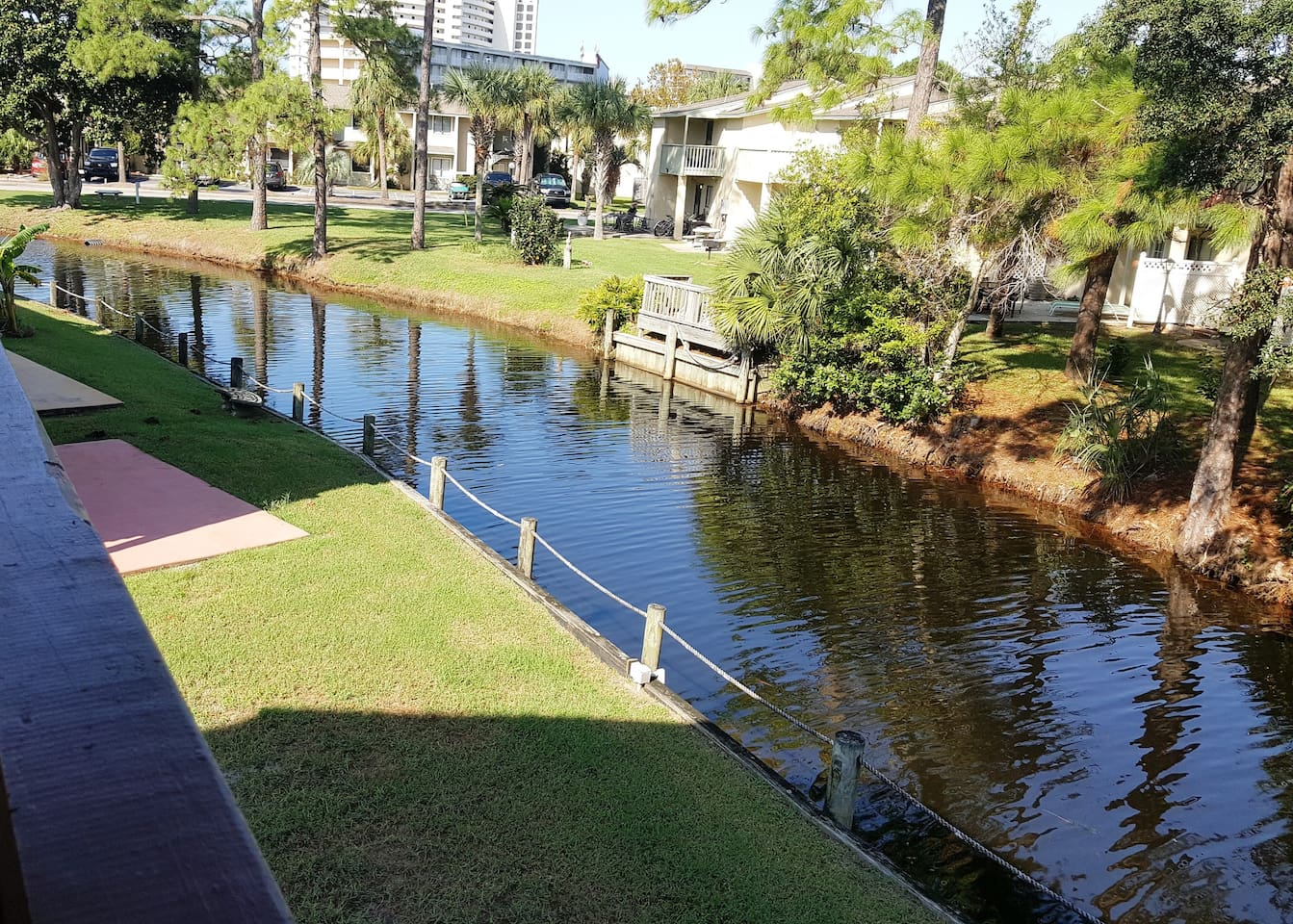 Grand Lagoon from 2nd Floor Patio deck