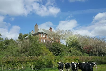 Double in traditional country home. Near M6 Jct44 - Carlisle