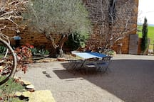Private room Ternand Beaujolais with pool