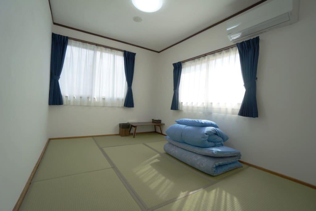 6畳和室(角部屋)