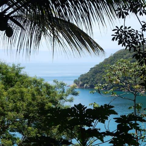 Chalé na Mata a 100m da praia - Ilha Grande - Angra dos Reis