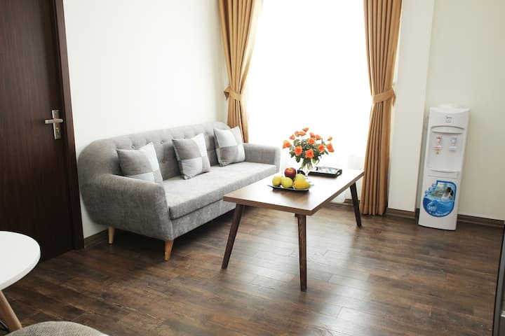 H222-01bed Apt* free laundry& cleaning* lotte* CGV
