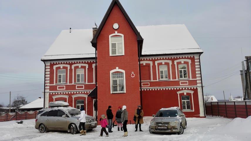 Купеческий дом на Волге. Русская баня.