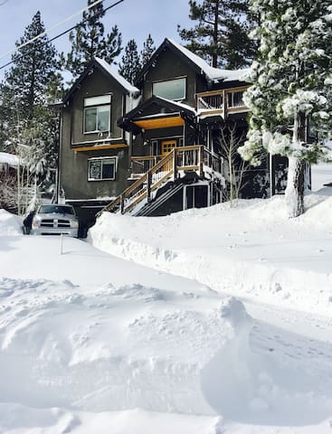 1/2 mile from Heavenly - Modern Mountain Room! - Eteläinen Lake Tahoe - Talo