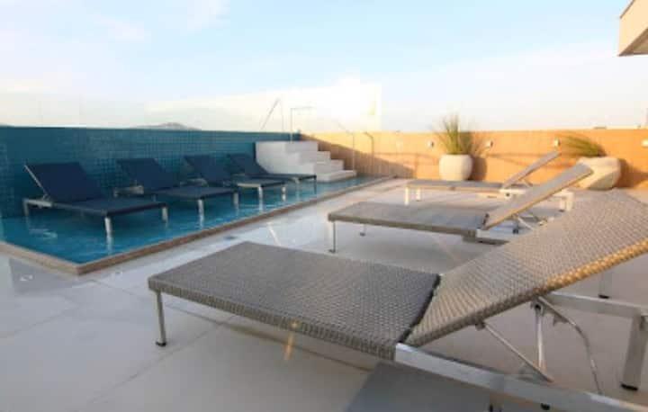 Flat no Samba Hotel Cabo Frio