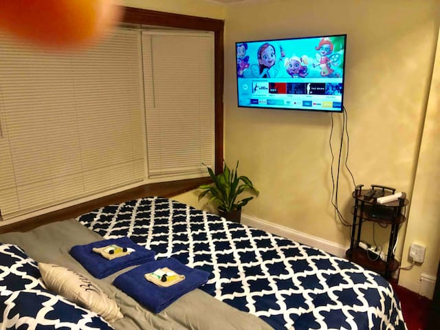 #5 Private Room KING bed 5mile JFK by Hotel-Like