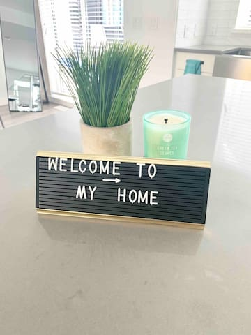 Welcome to my home !
