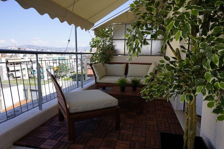 Voda Penthouse - Athina - Apartment