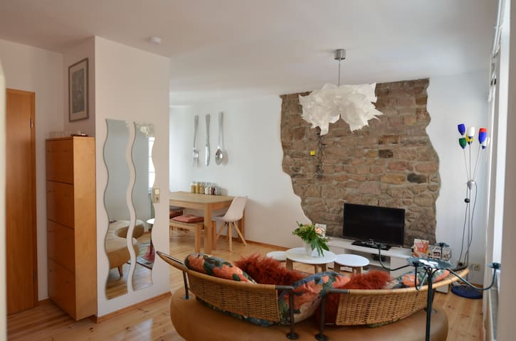 Charming maisonette flat in St. Wendel Centre