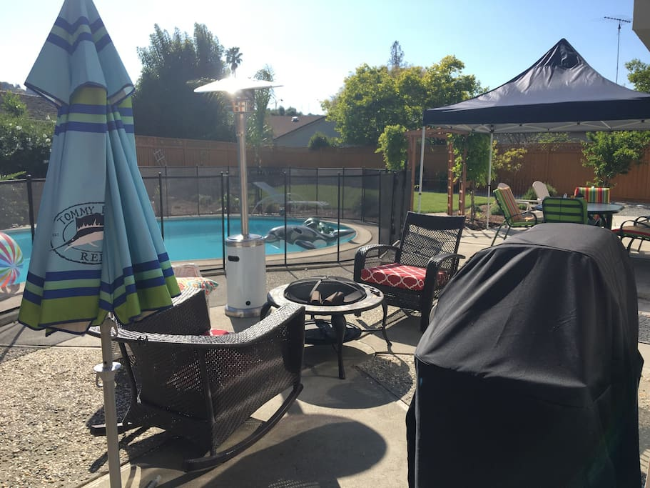 Highlight of our house is the spacious backyard to spread out with your family