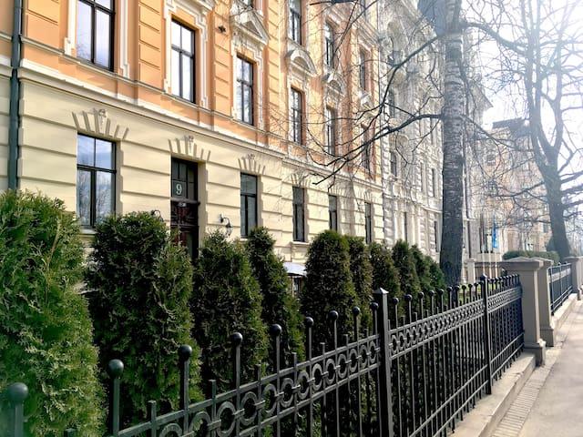 New Cozy flat in Art Nouveau district