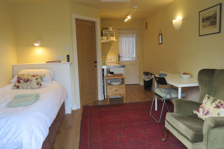 Cosy, but with everything that you need for a comfortable stay