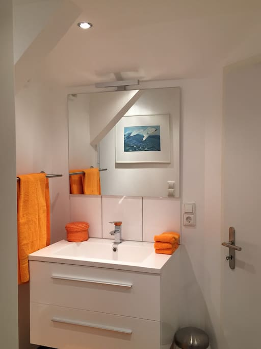 Bathrooom | Studio close to BaselWorld