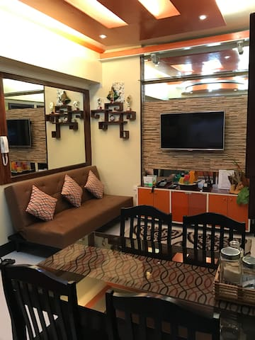 Fully furnished Condo bet SM Harrison & Manila Zoo