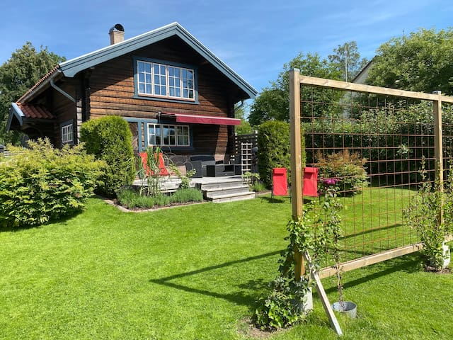 Beautiful Timber house in Sweden, close to lake.