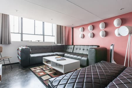 True loft-style Maboneng mine theme - Johannesburg