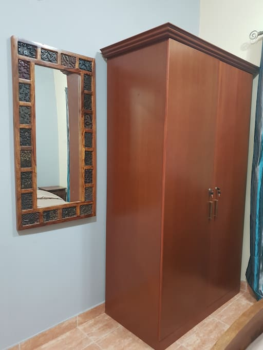 Classical Wooden Mirror