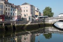 Cork, a city of rivers and bridges.