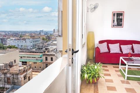 Apartamento independiente Habana Mía Vista - WiFi