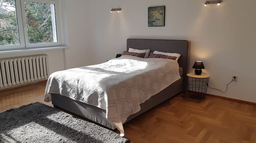 Double Bed PrivateRoom in Sołacz,  Bathroom Only4U