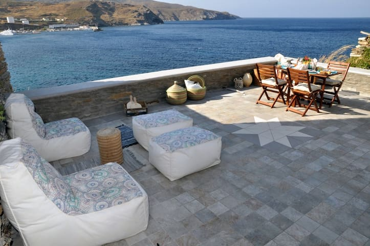 Luxury Villa to rent in Chora –Old town of Andros