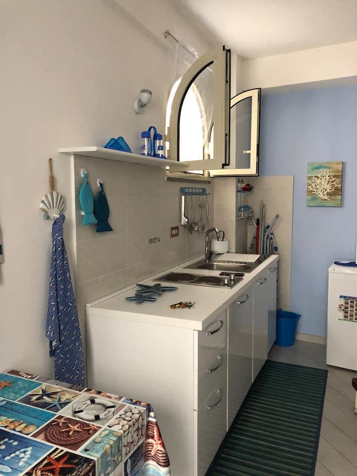 Casa indipendente, piccola ma accogliente, pulita.