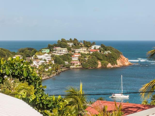 T2 magnifique vue  près commodités - La Trinité