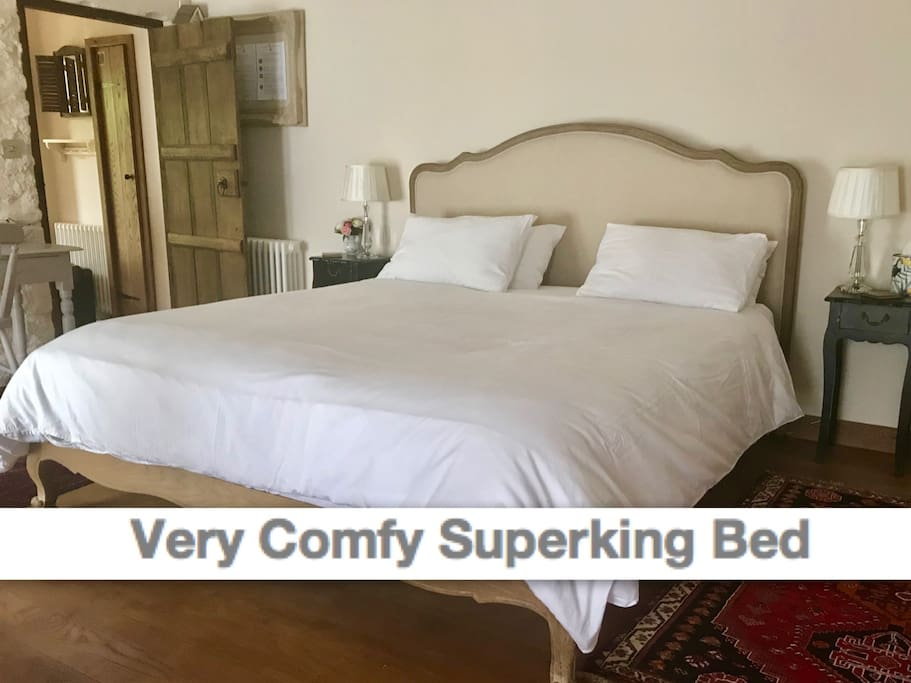 All our guests love the luxury bed