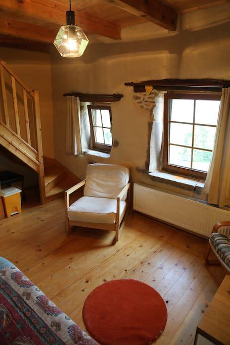 Chambre famille - Salon privé 2