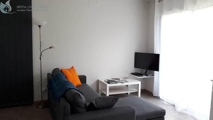 Appartement plain-pied calme et central à Jonzac