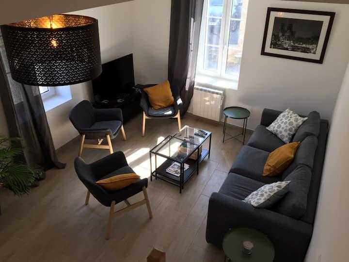 TEYO-Maison meublée 5 pers - Proche Roissy (60810)