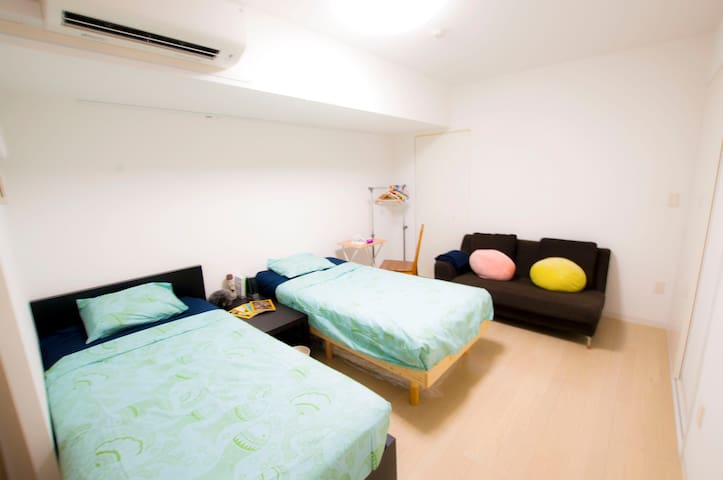 Convenient location and quiet cosy Private room - Kōtō-ku - Apartemen
