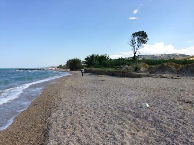 Casetta sulla spiaggia