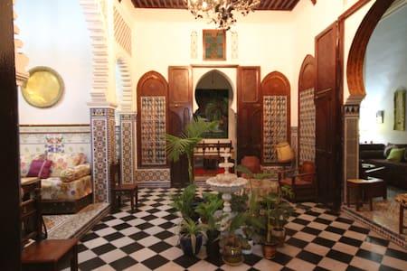 Chambre AL HURRA dans le riad FARACHA - Oda + Kahvaltı