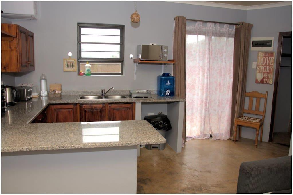Self Catering Flat - Open Plan Kitchen