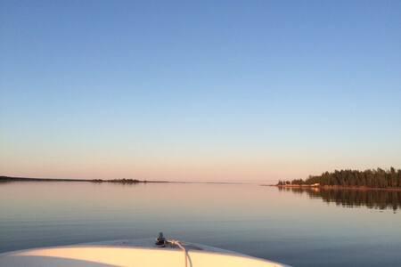 Archipelago villa on Kallaxön