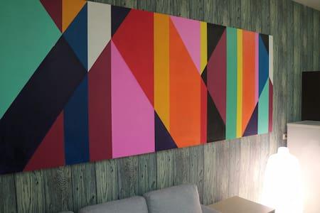 森 Inn 新藝文現代風格輕旅行,輕鬆快活禪意房,SOHO最愛住 - Apartment