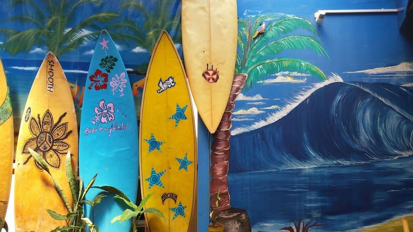 Aloha Surf Hostel :)