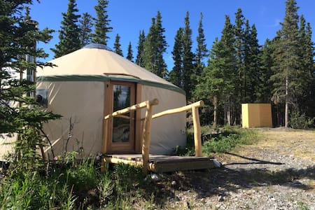 Mount Martha Black Yurt