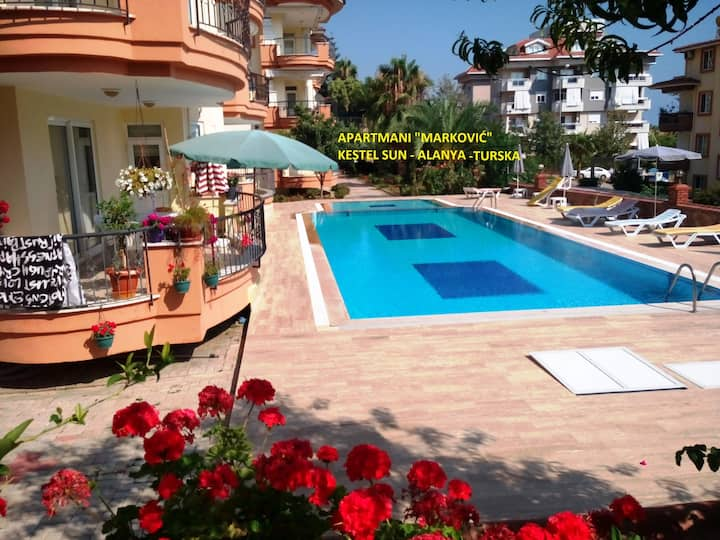 Apartments Markovic Kestel Sun Alanya Turkey