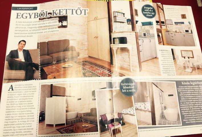 Romantic-vintage flat on the Andrássy Avenue II.! - Budapeste - Apartamento